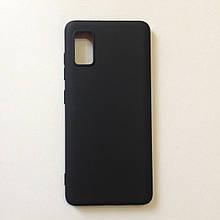 Чехол для Samsung A41 2020 SMTT Black