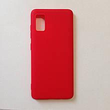 Чехол для Samsung A41 2020 SMTT Red