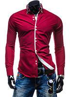 Красная мужская рубашка Флорида