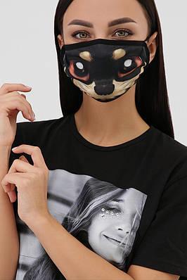 Захисна маска з принтом багаторазова