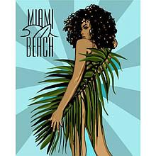 """Набір для розпису по номерах. """"Miami Beach"""" 40*50см"""
