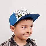 Фул кеп для мальчика ТМ Дембохаус от 1 до 3 лет, Бернардо, фото 2