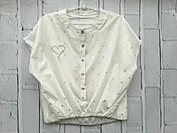 Блузка для девочек. 134- 152 рост.