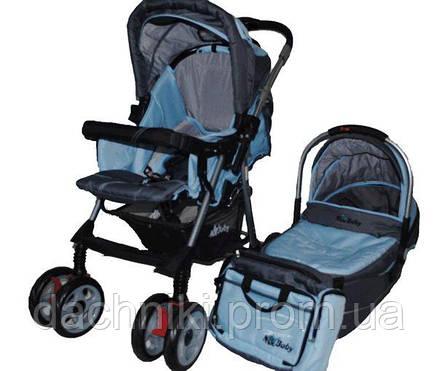Универсальная всесезонная детская коляска NEO BABY 703, фото 2