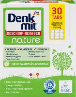 Органические таблетки для посудомоечных машин Натур Denkmit Geschirr-Reiniger Tabs nature 100 шт (россыпью)