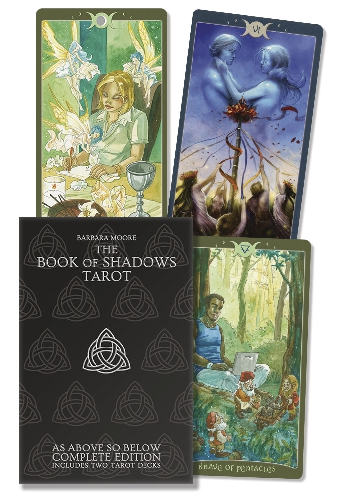 The Book of Shadows Complete Kit/ Таро Книга Теней, набор из двух колод