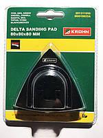 """Шлифовальная подушка Delta, размер: 80 мм (3 - 1/8 """")"""