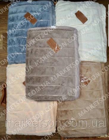 Покривало плед Шиншила 220х240 Євро розмір, фото 2