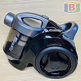 Пылесос колбовый 3.5 л НЕРА-фильтр Rainberg RB-655 2500W, фото 3