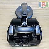 Пылесос колбовый 3.5 л НЕРА-фильтр Rainberg RB-655 2500W, фото 4