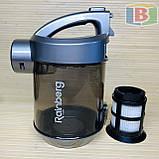 Пылесос колбовый 3.5 л НЕРА-фильтр Rainberg RB-655 2500W, фото 8
