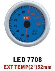 Дополнительный прибор Ket Gauge LED 7708 температура выхлопных газов EGT