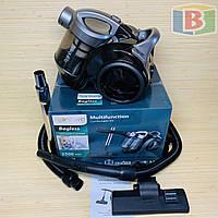 Пылесос колбовый 3.5 л НЕРА-фильтр Rainberg RB-655 2500W