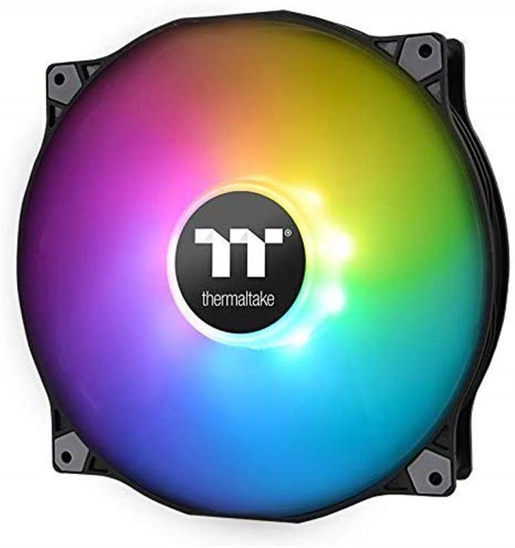 Вентилятор Thermaltake Pure 20 ARGB Sync TT Premium Edition (CL-F081-PL20SW-A), 200х200х30 мм, 3pin, черный