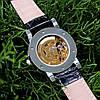 Мужские механические часы Winner 8012С Black-Silver-Gold (без автоподзавода) - Фото