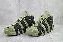Мужские кроссовки искусственная кожа весна/осень хаки-черные Ditof A 8587 -4, фото 2