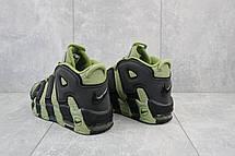 Мужские кроссовки искусственная кожа весна/осень хаки-черные Ditof A 8587 -4, фото 3
