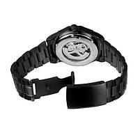 Наручные часы мужские Winner Concept H199 Black брендовые стальные механические, фото 4