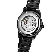 Наручные часы мужские Winner Concept H199 Black брендовые стальные механические, фото 6
