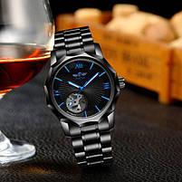 Наручные часы мужские Winner Concept H199 Black брендовые стальные механические, фото 7