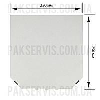 Коробка для пиццы 250х250х35 Белая 1/50, фото 1