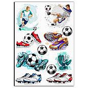 Футбол 3 вафельная картинка