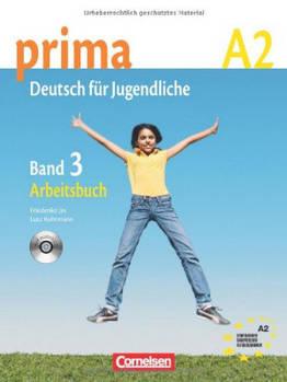 Prima-Deutsch fur Jugendliche 3 (A2) Arbeitsbuch+CD