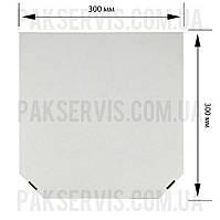 Коробка для пиццы 300х300х35 Белая 1/50, фото 1
