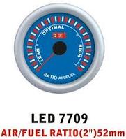 Дополнительный прибор Ket Gauge LED 7709 экономайзер Air Fuel состав смеси