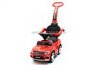 Детская машинка каталка-толокар Mercedes SX1578-5 красный, кож сиденье, EVA колеса, MP3, фото 1