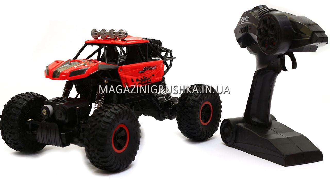 Автомобиль джип на пульте управления Sulong Toys 1:18 Off-road Crawler Super Sport Красный (SL-001R)