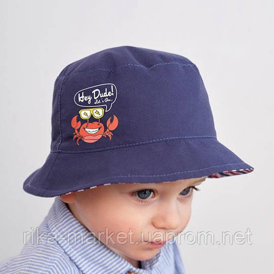 Панама для мальчика, ТМ Дембохаус, от 9 до 18 месяцев, Бенисио