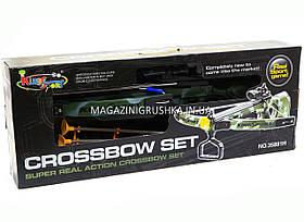 Арбалет детский на присосках «Crossbow set» (Лазерный прицел) 35881H