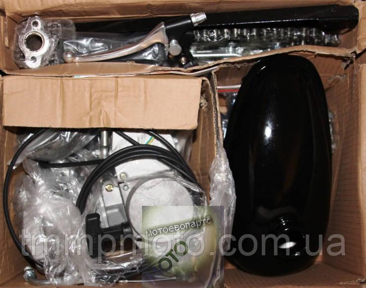 Веломотор (дырчик) Ф80 см3 / F80 на велосипед 80 сс  47мм без стартера веломотор комплект