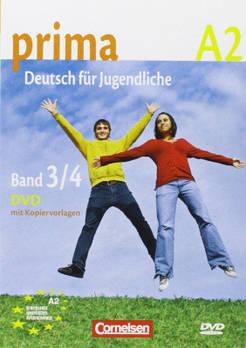 Prima-Deutsch fur Jugendliche 3/4 (A2) DVD