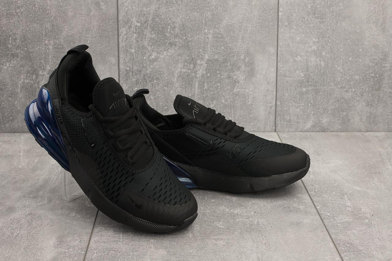 Чоловічі кросівки текстильні весна/осінь чорні Aoka A 1122