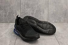 Чоловічі кросівки текстильні весна/осінь чорні Aoka A 1122, фото 2