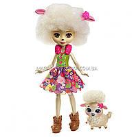 Кукла Энчантималс — Овечка Лорна с питомцем FCG65, фото 3