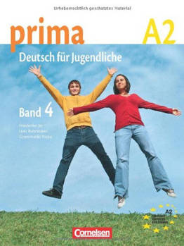 Prima-Deutsch fur Jugendliche 4 (A2) Schulerbuch