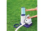 Бактериальный картридж для насос-фильтра Bestway 58505.Размер: диаметр 14. 2 см, высота 25. 4 см. тип IV, фото 2