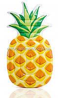 Матрас надувной Intex Ананас (Pineapple) арт. 58761. Отлично подходит для отдыха на море, в бассейне, фото 3