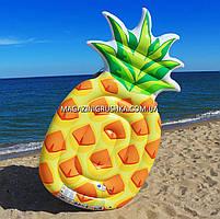 Матрас надувной Intex Ананас (Pineapple) арт. 58761. Отлично подходит для отдыха на море, в бассейне, фото 5