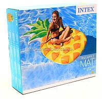 Матрас надувной Intex Ананас (Pineapple) арт. 58761. Отлично подходит для отдыха на море, в бассейне, фото 6