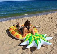 Матрас надувной Intex Ананас (Pineapple) арт. 58761. Отлично подходит для отдыха на море, в бассейне, фото 8