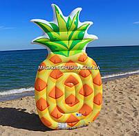 Матрас надувной Intex Ананас (Pineapple) арт. 58761. Отлично подходит для отдыха на море, в бассейне, фото 9