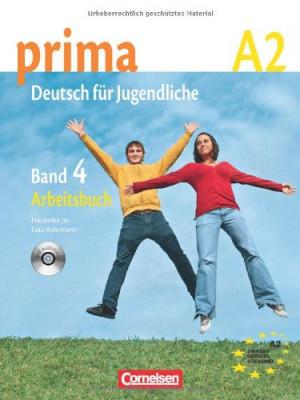 Prima-Deutsch fur Jugendliche 4 (A2) Arbeitsbuch+CD