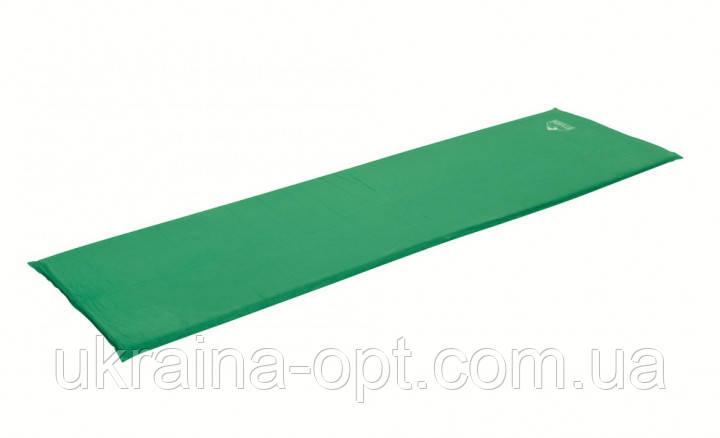 Коврик самонадувающийся   180 х 50 х 2.5 см, зеленый Pavillo Bestway 68058