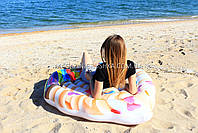 Матрас надувной Intex Кекс (Cupcake) арт.58770. Отлично подходит для отдыха на море, в бассейне, фото 6