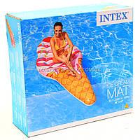 Матрас надувной Intex Мороженое (Ice Cream) арт.58762. Отлично подходит для отдыха на море, в бассейне, фото 3