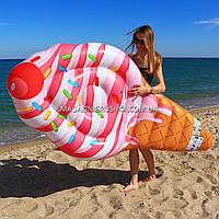 Матрас надувной Intex Мороженое (Ice Cream) арт.58762. Отлично подходит для отдыха на море, в бассейне, фото 4